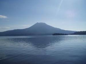 パワースポット-雄阿寒岳と阿寒湖