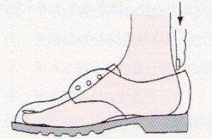 靴サイズ選び