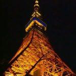 三角型3タワーの夜景/東京タワー/名古屋テレビ塔/札幌テレビ塔