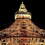 東京タワーのフットタウン屋上から天体観測
